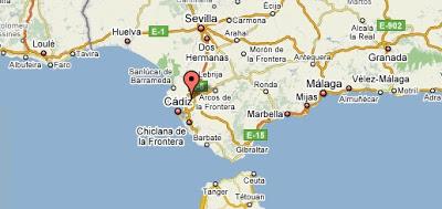 Mapa de Andalucía - google maps