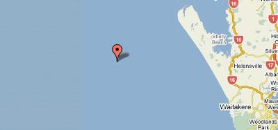 Mapa de Auckland - google maps