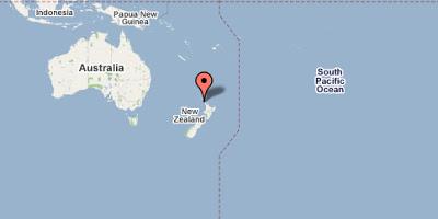 Mapa de Oceanía - google maps