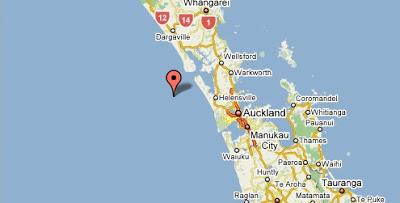 Norte de Nueva Zelanda - google maps