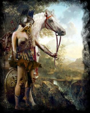 amazonas guerreras mitología