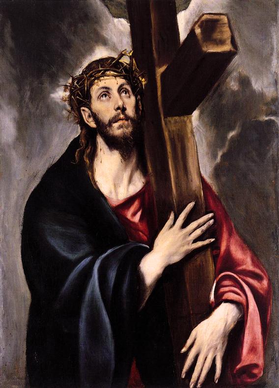 Cristo abrazado a la cruz - El Greco (1541-1614)