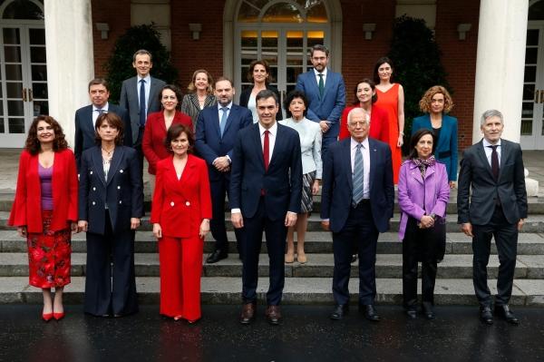 Gobierno Pedro Sánchez - (c) La Moncloa