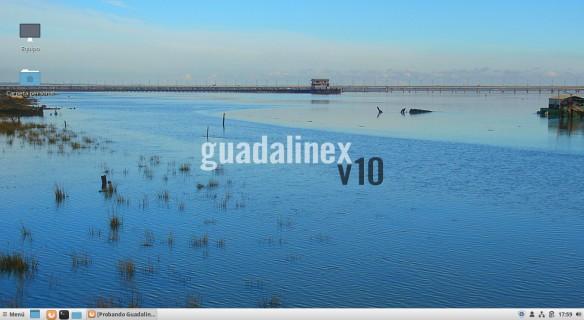Fondo Guadalinex 10 - Imagen de la web unnoficial